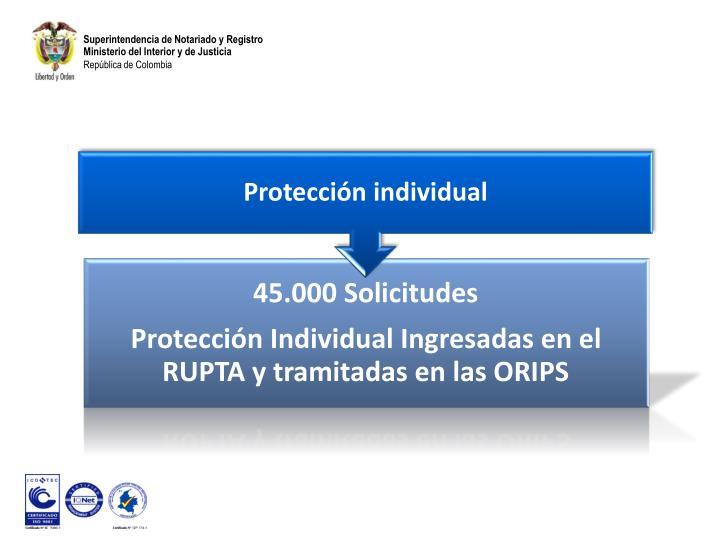 Protección individual