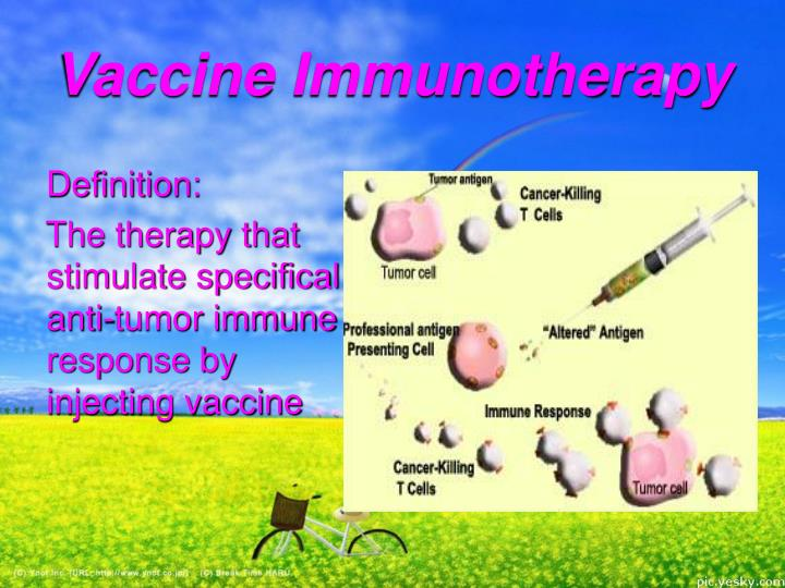 Vaccine Immunotherapy