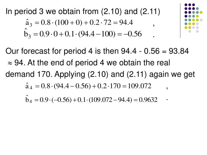 In period 3 we obtain from (2.10) and (2.11)