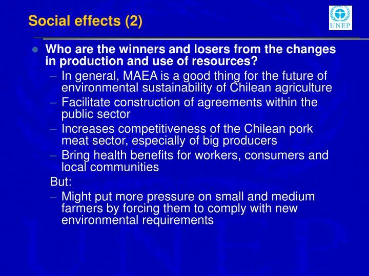 Social effects (2)