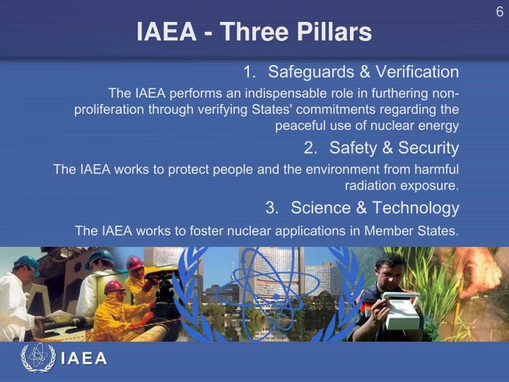 IAEA - Three Pillars