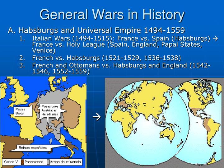 General Wars in History