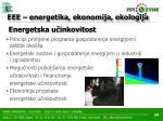 eee energetika ekonomija ekologija21