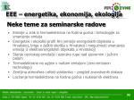 eee energetika ekonomija ekologija29