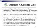 medicare advantage quiz