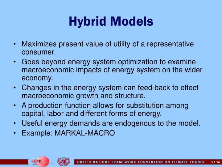 Hybrid Models