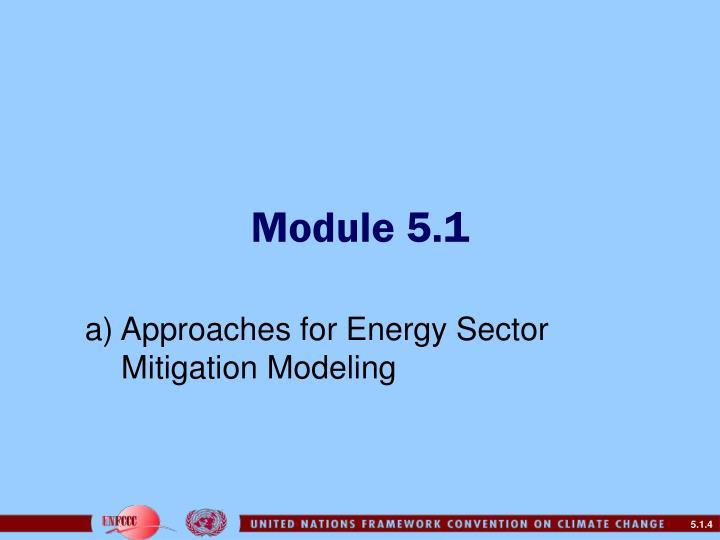 Module 5.1