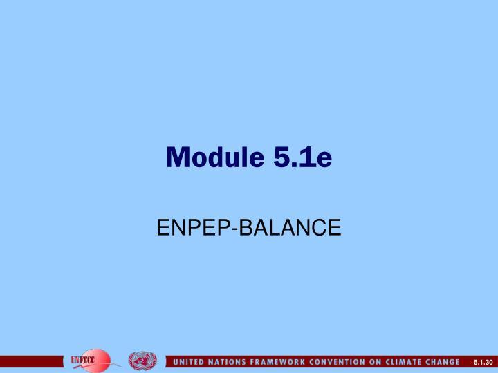 Module 5.1e