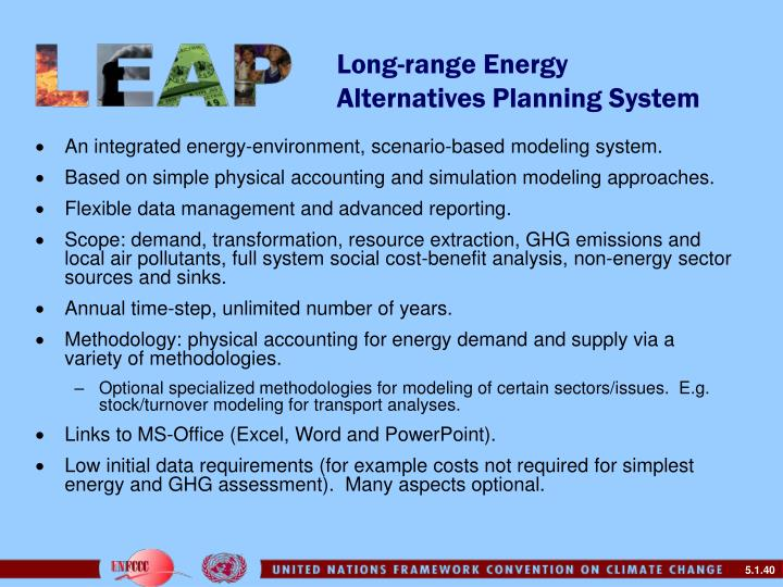 Long-range Energy