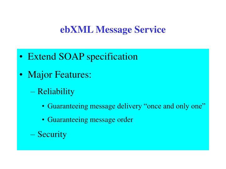 ebXML Message Service
