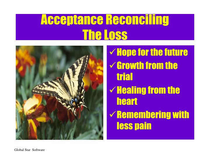 Acceptance Reconciling