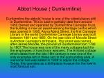 abbot house dunfermline