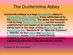 the dunfermline abbey