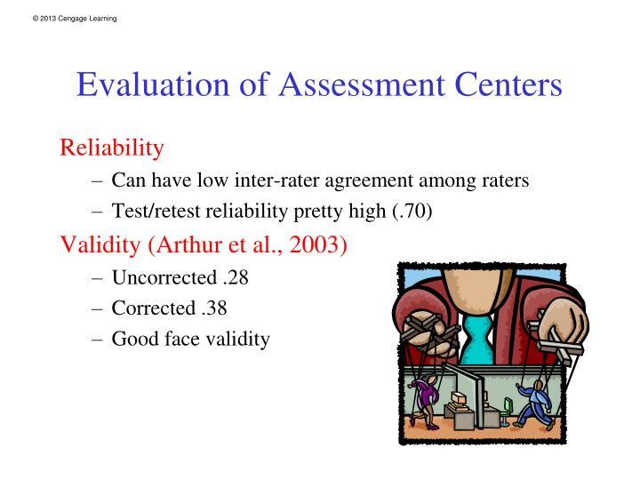 Evaluation of Assessment Centers