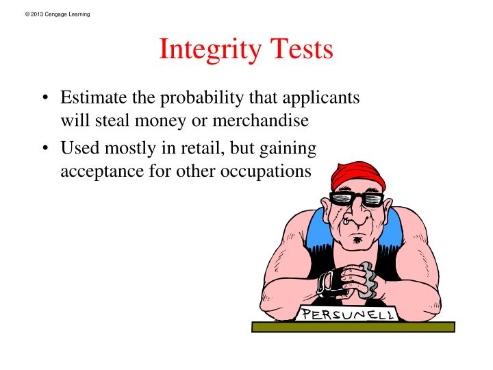 Integrity Tests