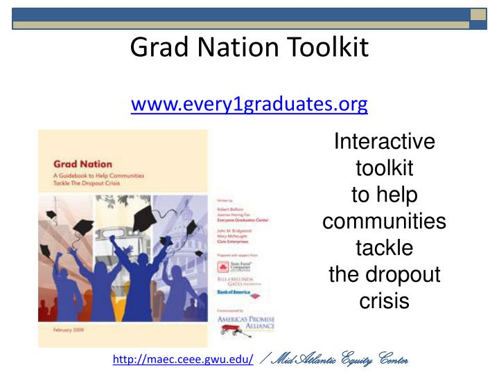 Grad Nation Toolkit