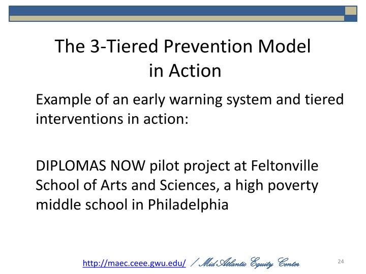 The 3-Tiered Prevention Model