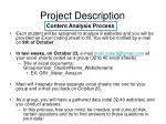 project description1