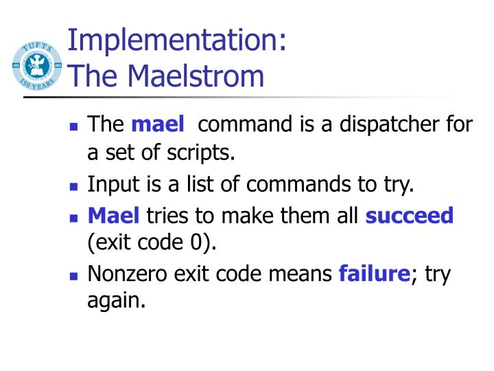 Implementation: