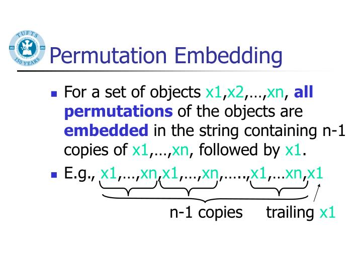 Permutation Embedding