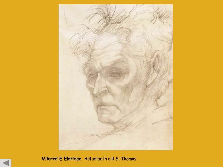 Mildred E Eldridge