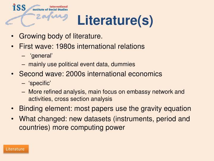 Literature(s)