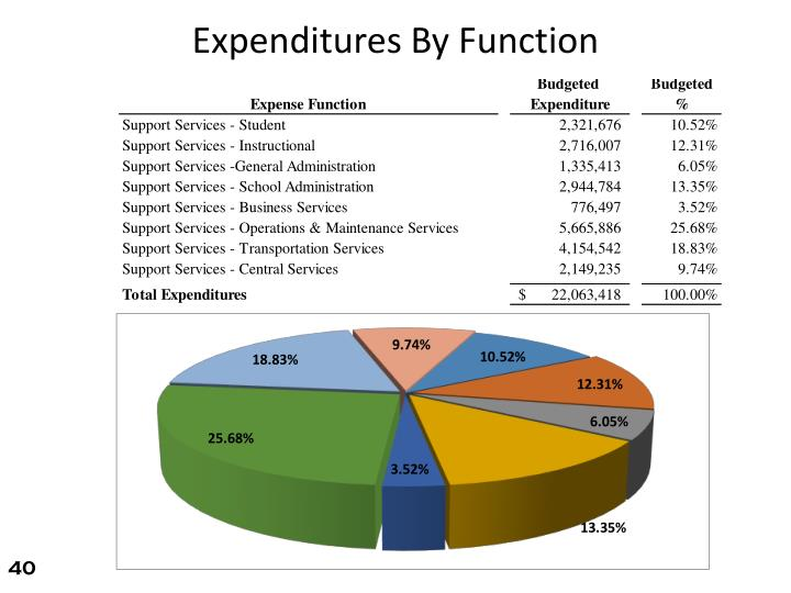 Expenditures By Function