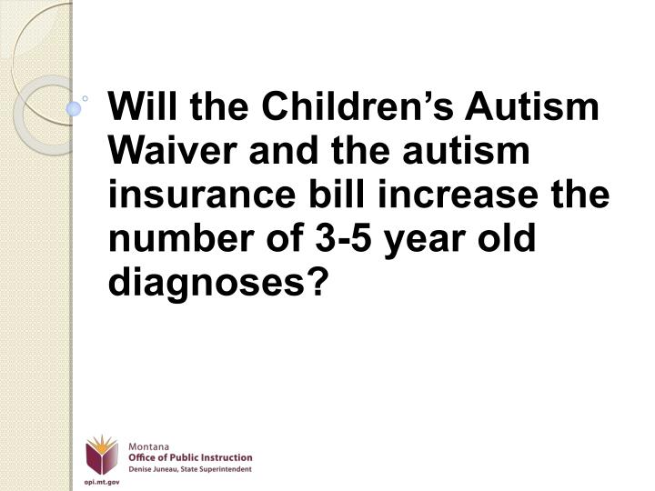 Will the Children's Autism