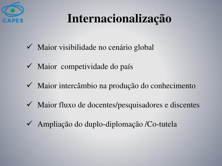 Internacionaliza o