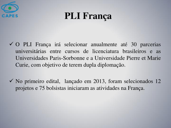 PLI França