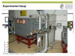 experimental setup1