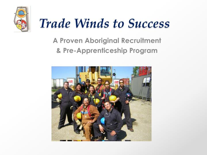 trade winds to success
