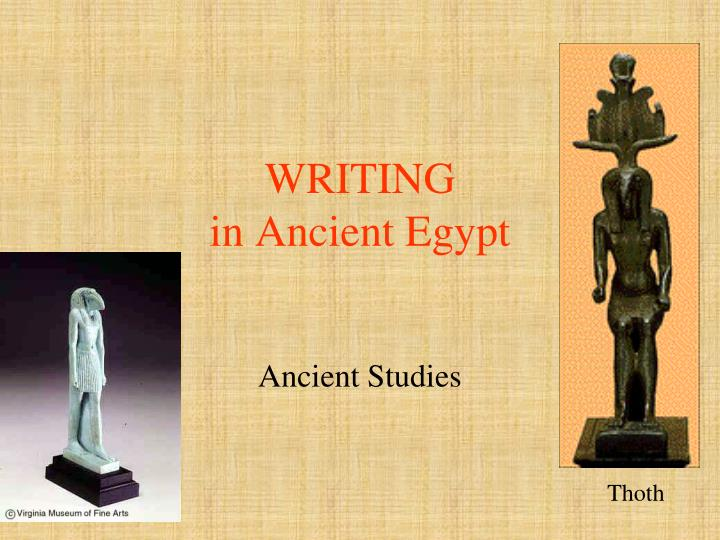 writing in ancient egypt n.