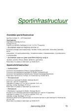 sportinfrastructuur