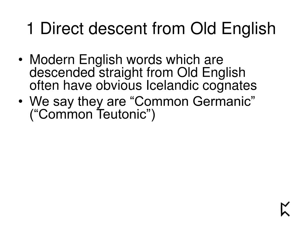 PPT - Where do English words come from? PowerPoint
