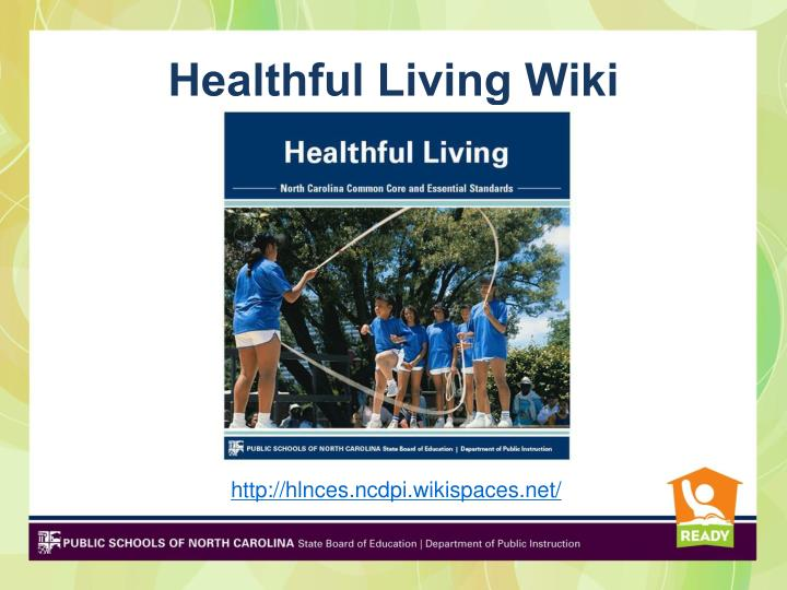 Healthful Living Wiki