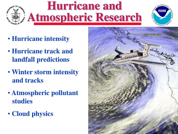 Hurricane and Atmospheric Research