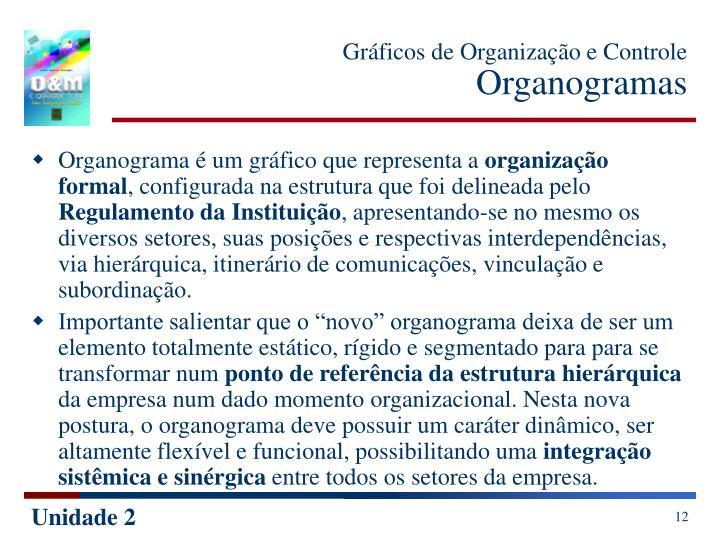 Gráficos de Organização e Controle