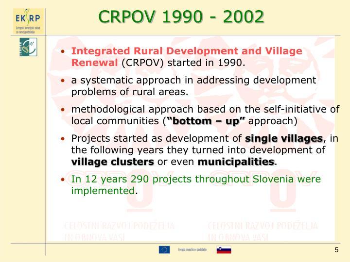 CRPOV 1990 - 2002