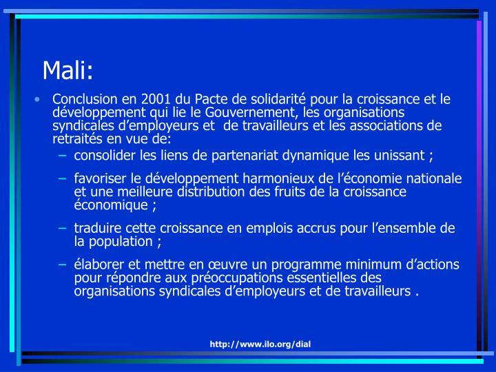 Mali: