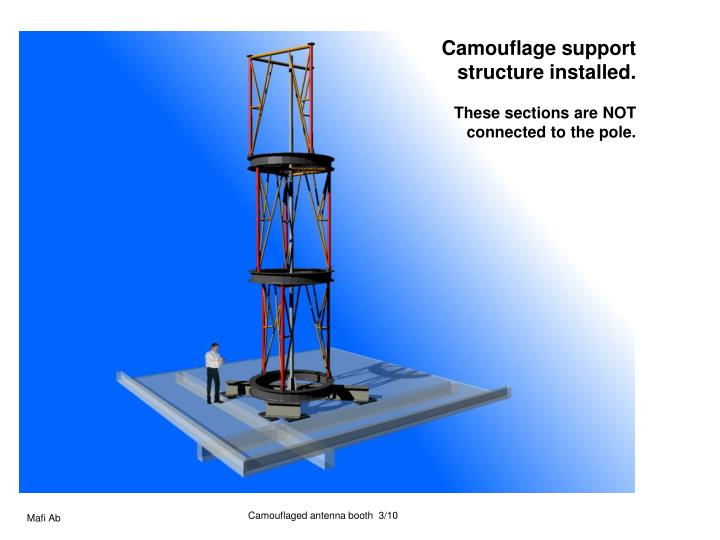Camouflage support