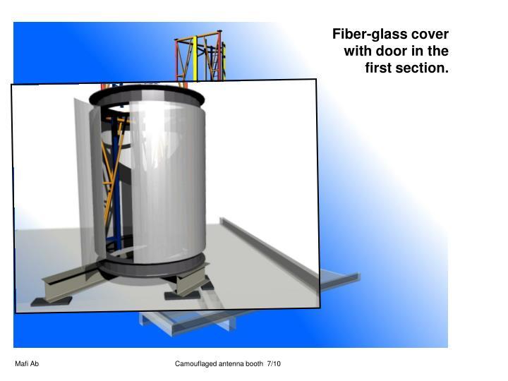 Fiber-glass cover