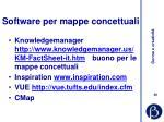 software per mappe concettuali