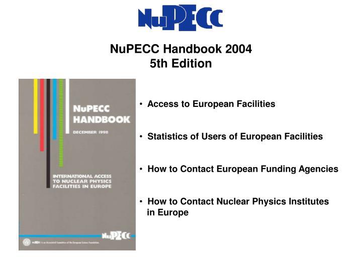 NuPECC Handbook 2004