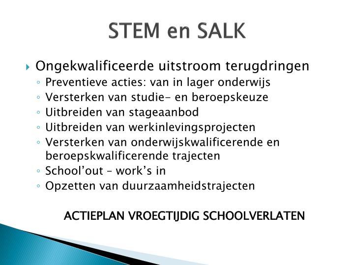 STEM en SALK