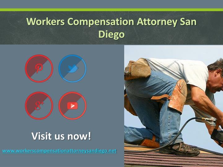 Workers Compensation Attorney San Diego