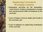 engineering curricula in developing countries1