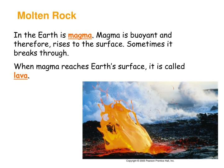 Molten Rock