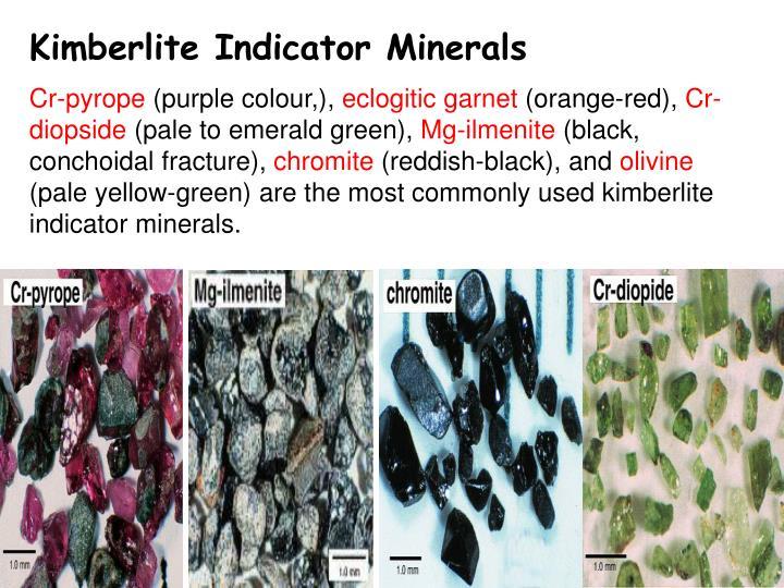 Kimberlite Indicator Minerals