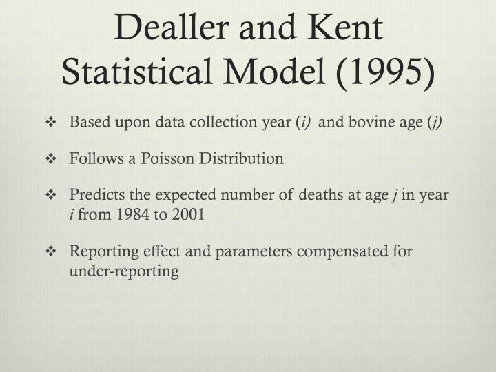 Dealler and Kent Statistical Model (1995)
